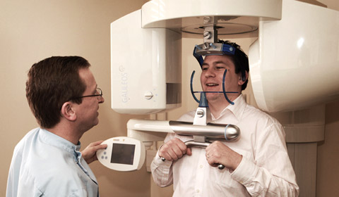 Using the Sirona Galileos CT Scanner in the The Bridge House Dental practice